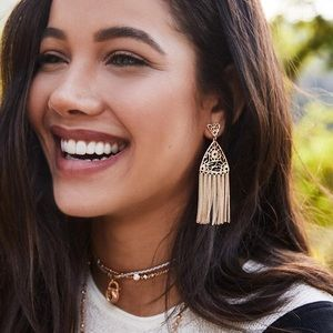 Kendra Scott Jewelry - Kendra Scott Ana Tassel Earrings Gold